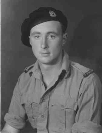 Corporal R L McClure in uniform - This image may be subject to copyright