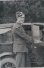 Portrait, getting into a car, c early 1943 taken some time before he embarked for Canada April 1943 (photograph kindly provided by family) - This image may be subject to copyright