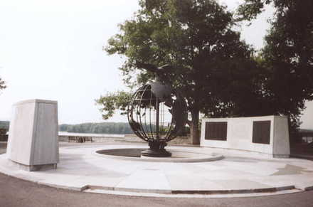 Ottawa Memorial (Commonwealth Air Force Memorial) View (photo G.A. Fortune 2003) - Image has All Rights Reserved