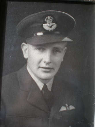 A.R. Thompson in uniform - This image may be subject to copyright
