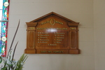 Roll of Honour, WW2, Christ's Church (Anglican), Russell, (photo J. Halpin November 2010) - This image may be subject to copyright