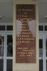 Name panel, Matakohe Memorial Hall, WW2 (digital photo John Halpin 2010) - CC BY John Halpin