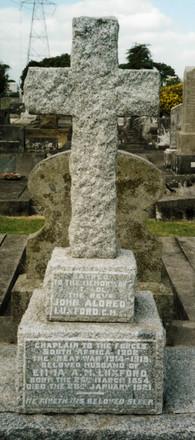 Headstone, Waikaraka Public Cemetery (supplied Mr Paul F. Baker 2009) - No known copyright restrictions
