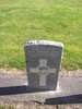Gravestone, Featherston Cemetery (photograph kindly provided by Adele Pentony Graham) - No known copyright restrictions
