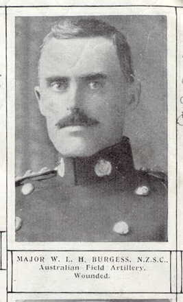 W. Burgess, Weekly News Roll of Honour for 1915.