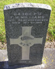 Gravestone, Featherston Cemetery - No known copyright restrictions