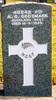 Headstone, Waikumete Cemetery - No known copyright restrictions