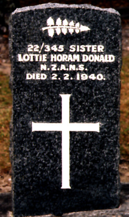 Gravestone, Waikumete Cemetery (photo Paul F. Baker) - No known copyright restrictions