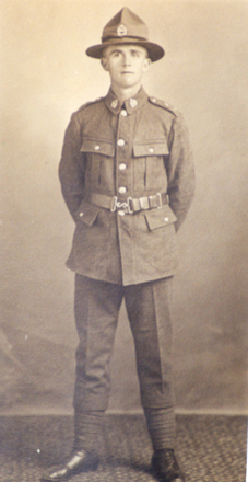 Portrait, full length LC Windleburn, 1918. - No known copyright restrictions