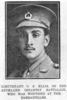Portrait, wounded at the Dardanelles, Auckland Weekly News, 13 January 13, 1916 - No known copyright restrictions