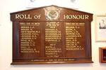 Roll of Honour, Ahuroa, WW1 and WW2, Warkworth RSA (photo J. Halpin January 2013) - No known copyright restrictions