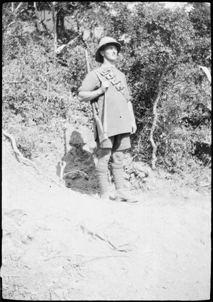 Portrait, taken at Gallipoli 1915 - No known copyright restrictions