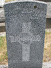 Gravestone, Linwood Cemetery (photo Sarndra Lees, January 2010) - Image has All Rights Reserved.