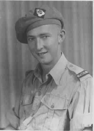 A W Brown in uniform - This image may be subject to copyright