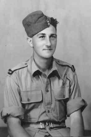 Portrait, Jack Hocking taken in Cairo in June 1944 - This image may be subject to copyright