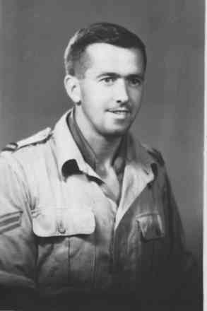 Portrait, Miles Campbell Dickson, taken at a photo studio at 116 Edam el Din Cairo on 31 July 1943. - This image may be subject to copyright