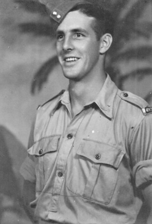 Portrait, James Needham, in uniform, cap - This image may be subject to copyright
