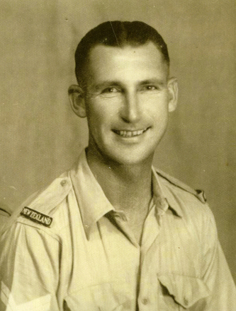 Portrait, 1940-1943 (kindly provided by his son) - This image may be subject to copyright