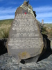 Cave War Memorial, detail, Otago. Photo Brian Davison, 2009. - No known copyright restrictions