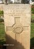 Headstone, Gaza War Cemetery (photo Alan and Hazel Kerr 2007) - No known copyright restrictions
