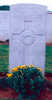 Headstone, Grevillers British Cemetery - No known copyright restrictions