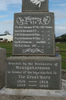 Maungakaramea War Memorial, North East face, WW1 & WW2 Commemoration panel and WW1 names (June 2010) - No known copyright restrictions