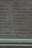 Detail, Roll of Honour, WW1, 1914 - 1918, Tuakau Memorial Hall (photo John Halpin September 2012) - CC BY John Halpin