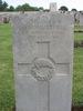 Headstone, Jerusalem War Cemetery (Photo Alan and Hazel Kerr, 2007) - No known copyright restrictions