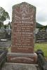 Detail headstone, Kamo Public Cemetery (photo J. Halpin February 2012) - No known copyright restrictions
