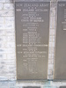 Bourail Memorial, Panel 1. names - This image may be subject to copyright