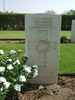 Headstone, Heliopolis War Cemetery Egypt (photo B. Coutts, 2009) - This image may be subject to copyright