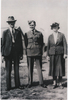 Family group, WW2, airman and his parents, William James Victor Boyd (NZ428303) with his parents James Benjamin Boyd (WW1 29211) and Lucy Eileen Boyd, taken before April 1943 (photograph kindly provided by family) - No known copyright restrictions