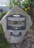 Memorial stone, at Musem of Transport & Technology (MOTAT). In memory of the 8 young New Zealand Pilots lost on 15 January 1945. (photo kindly taken by the Keefe family) - This image may be subject to copyright