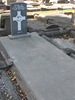 Grave, Linwood Cemetery, Christchurch (Photo Sarndra Lees, 2009) - Image has All Rights Reserved.