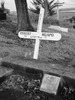 Headstone of Lance Corporal Robert Ngapo, Shortland Public Cemetery, Thames Image kindly provided by K. de Boer (2010) Image has no known copyright restrictions.