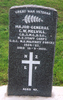 Headstone, Karori Cemetery (photo P Baker 2005) - No known copyright restrictions