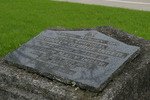 Headstone, O'Neill's Point Cemetery (photo J. Halpin 2011) - No known copyright restrictions