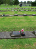 Gravestone broad view at Papatoetoe Cemetery provided by Sarndra Lees May 2013 - This image may be subject to copyright