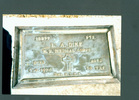 Headstone, Waihi Public Cemetery (kindly provided by family) - This image may be subject to copyright