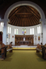 Inside view looking to the altar, St Alban's, Auckland (photo John Halpin March 2014) - CC BY John Halpin