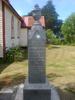 Memorial stone, Tu Auau Marae, Reporua, New Zealand (photo kindly provided by whanau) - No known copyright restrictions