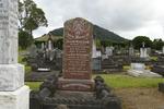Family grave, Kamo Public Cemetery (photo J. Halpin February 2012) - No known copyright restrictions