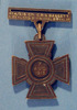 Victoria Cross. Cyril Bassett. No ribbon, inscription. Back (reverse). Auckland War Memorial Museum. (Image Number N2548-b.) - No known copyright restrictions
