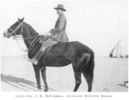 Portrait, astride horse from Powles, C.G. (1922). p. 129 - No known copyright restrictions