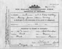 42960 Harvey James Adam Murray Certificate of Discharge - No known copyright restrictions