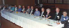 24th Battalion veterans and their wives, dinner in Hamilton. - This image may be subject to copyright