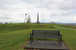 View, War Memorial seat, Stockade Hill, Howick (photo J. Halpin August 2013) - No known copyright restrictions