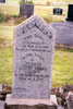 Image of gravestone at Ohaeawai Cemetery provided by Paul Baker; October 2012 - No known copyright restrictions