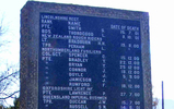 Name panel at Rietfontein 280 Cemetery (provided by Charles Ross 2012) - No known copyright restrictions