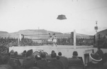 Boxing match, WW2 at Maadi, Egypt. Ron Withell (9274) in ring. - This image may be subject to copyright